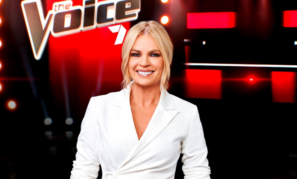the voice australia channel seven sonia kruger