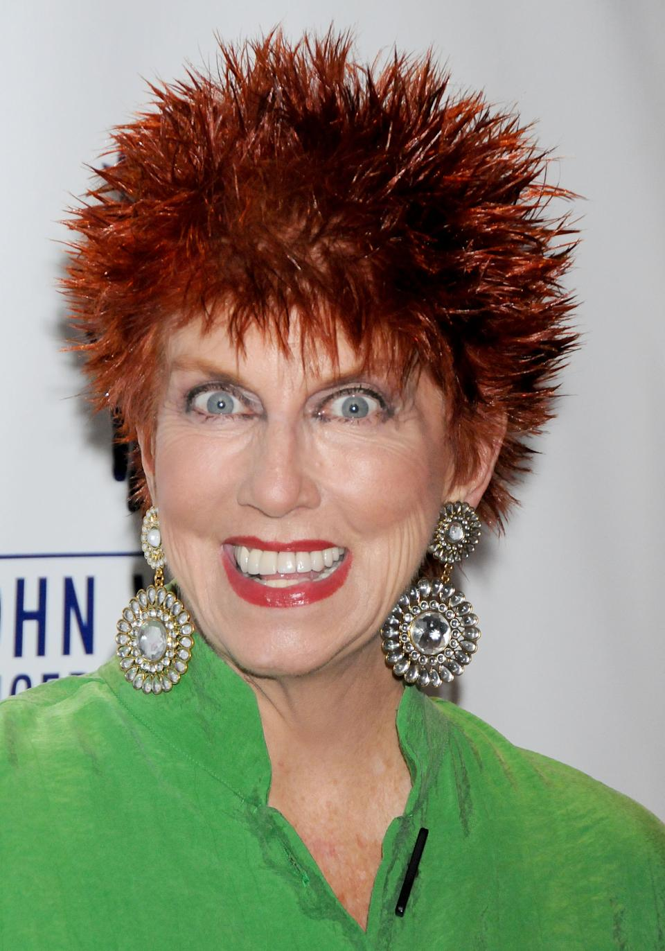 SANTA MONICA, CA - SEPTEMBER 26: Marcia Wallace arrives at