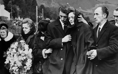 A funeral following the Aberfan disaster - Credit: Getty Images/Keystone-France