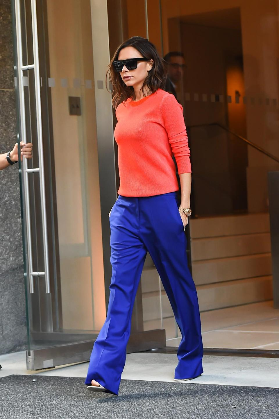 <p>How to wear clashing colours, and make them work. <em>[Photo: Getty]</em> </p>