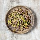 "<p>Research has linked pistachios with raising <a href=""http://www.americanpistachios.org/nutrition-and-health/articles/heart-health"" rel=""nofollow noopener"" target=""_blank"" data-ylk=""slk:HDL cholesterol"" class=""link rapid-noclick-resp"">HDL cholesterol</a> while lowering LDL cholesterol. Since these nuts are fiber-rich and antioxidant-packed, they also protect your body's cells from oxidative stress, the damage that allows for plaque build-up in your arteries.</p>"