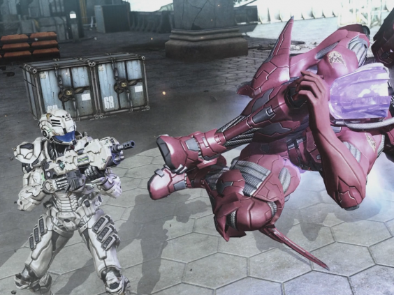 'Vanquish' was praised for its fast and furious sci-fi action (Sega)