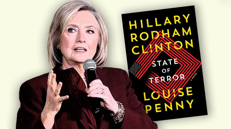 Hillary Rodham Clinton and the new book she wrote with Louise Penny