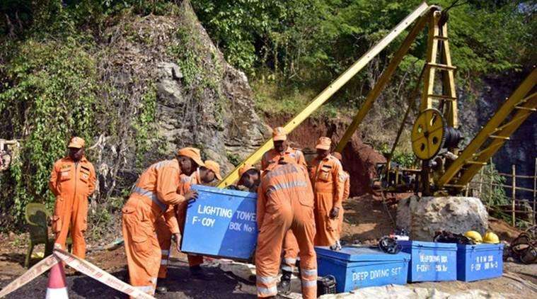 Fifteen persons have been trapped inside the illegal Meghalaya mine since December 13.