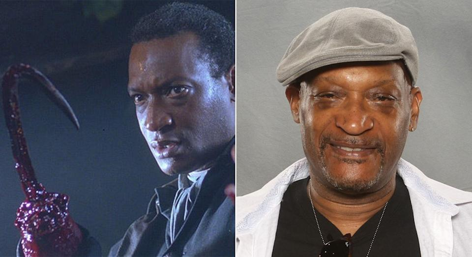 Candyman as played by Tony Todd.