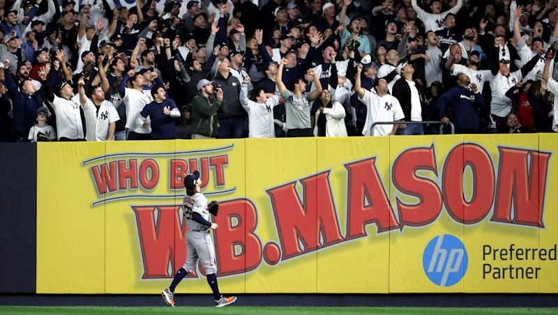 Major League Baseball has quick verdict on Yankees-Astros whistling accusation