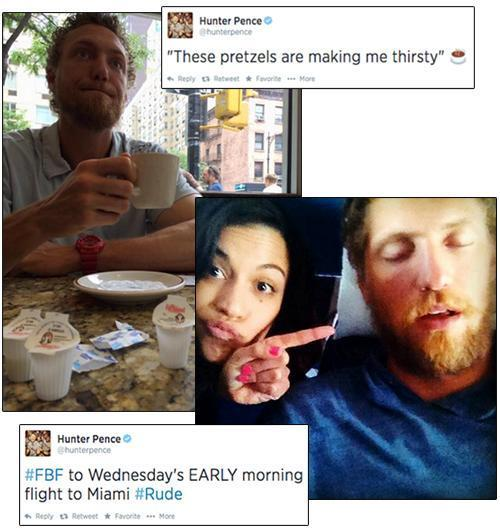 Tweets and photos from Hunter Pence