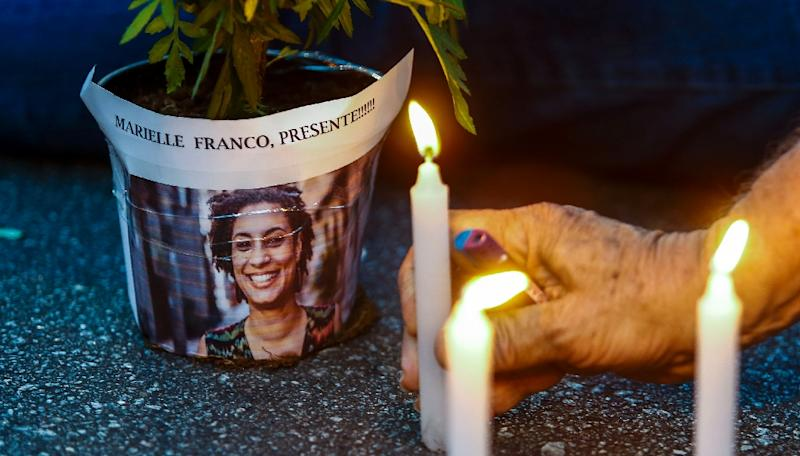 Franco, a charismatic city council member in Rio de Janeiro and champion of LGBTQ and black rights, was shot dead along with her driver on March 14 in a murder that bore the hallmarks of a professional hit
