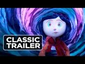 """<p>In this vivid stop-motion fantasy, adapted from a Neil Gaiman novel, an imaginative child named Coraline discovers a parallel world behind a secret door in her new family home. Little does Coraline know, the world holds dark secrets, which threaten to endanger the lives of everyone she loves. Come for the madcap fantasy, but stay for the tender coming of age story, wherein one courageous girl discovers the true meaning of home. - <em>Adrienne Westenfeld</em></p><p><a class=""""link rapid-noclick-resp"""" href=""""https://www.amazon.com/gp/video/detail/amzn1.dv.gti.5ca9f7a0-5810-c8f2-2b5b-b220be457e2e?autoplay=1&ref_=atv_cf_strg_wb&tag=syn-yahoo-20&ascsubtag=%5Bartid%7C10054.g.35066935%5Bsrc%7Cyahoo-us"""" rel=""""nofollow noopener"""" target=""""_blank"""" data-ylk=""""slk:Watch Now"""">Watch Now</a></p><p><a href=""""https://www.youtube.com/watch?v=m9bOpeuvNwY"""" rel=""""nofollow noopener"""" target=""""_blank"""" data-ylk=""""slk:See the original post on Youtube"""" class=""""link rapid-noclick-resp"""">See the original post on Youtube</a></p>"""