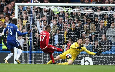 Pereyra scored at Chelsea recentlyCredit: Getty images