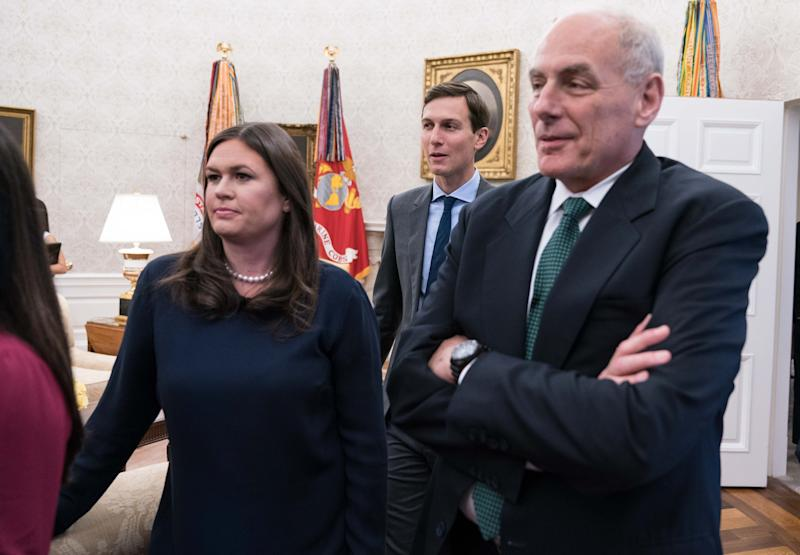 Sarah Sanders Denies Ivanka Trump is Planning John Kelly Replacement, Says He's in 'For the Long Haul'