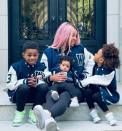 """<p><a href=""""https://people.com/tag/ciara/"""" rel=""""nofollow noopener"""" target=""""_blank"""" data-ylk=""""slk:Ciara"""" class=""""link rapid-noclick-resp"""">Ciara</a> is loving being a mama! </p> <p>The singer is mother to 3-year-old daughter <a href=""""https://people.com/parents/ciara-russell-wilson-welcome-daughter-sienna-princess/"""" rel=""""nofollow noopener"""" target=""""_blank"""" data-ylk=""""slk:Sienna Princess"""" class=""""link rapid-noclick-resp"""">Sienna Princess</a> and 7-month-old son <a href=""""https://people.com/parents/ciara-russell-wilson-welcome-son-win-harrison/"""" rel=""""nofollow noopener"""" target=""""_blank"""" data-ylk=""""slk:Win Harrison"""" class=""""link rapid-noclick-resp"""">Win Harrison</a>, both of which she shares with husband and NFL player <a href=""""https://people.com/tag/russell-wilson/"""" rel=""""nofollow noopener"""" target=""""_blank"""" data-ylk=""""slk:Russell Wilson"""" class=""""link rapid-noclick-resp"""">Russell Wilson</a>. Her oldest son, <a href=""""https://people.com/parents/ciara-welcomes-son-future-zahir/"""" rel=""""nofollow noopener"""" target=""""_blank"""" data-ylk=""""slk:Future Zahir"""" class=""""link rapid-noclick-resp"""">Future Zahir</a>, 6, whom she co-parents with her ex-fiancé, rapper Future, completes her blended family! </p> <p>The mother of three talked about motherhood changing her life in the best way possible with <a href=""""https://www.wmagazine.com/story/ciara-motherhood-marriage-self-care"""" rel=""""nofollow noopener"""" target=""""_blank"""" data-ylk=""""slk:W Magazine"""" class=""""link rapid-noclick-resp""""><i>W Magazine</i></a><i>.</i></p> <p>""""It's changed me for the better. It's made me not sweat the small stuff. I think [being a mom] gives you more compassion in life, and more love in your heart,"""" said Ciara. """"I have to say, I do love giving love [laughs] but I want to give more. There's nothing sweeter than putting a smile on your kid's face; there's nothing sweeter than putting a smile on another kid's face.""""</p>"""