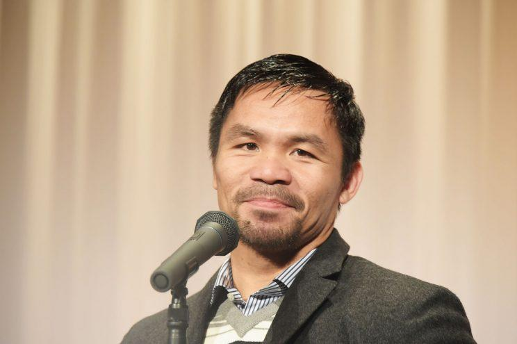 Manny Pacquiao headed toward April 22 showdown with little known Jeff Horn