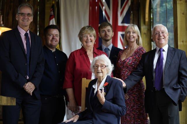 Bletchley codebreaker and her family