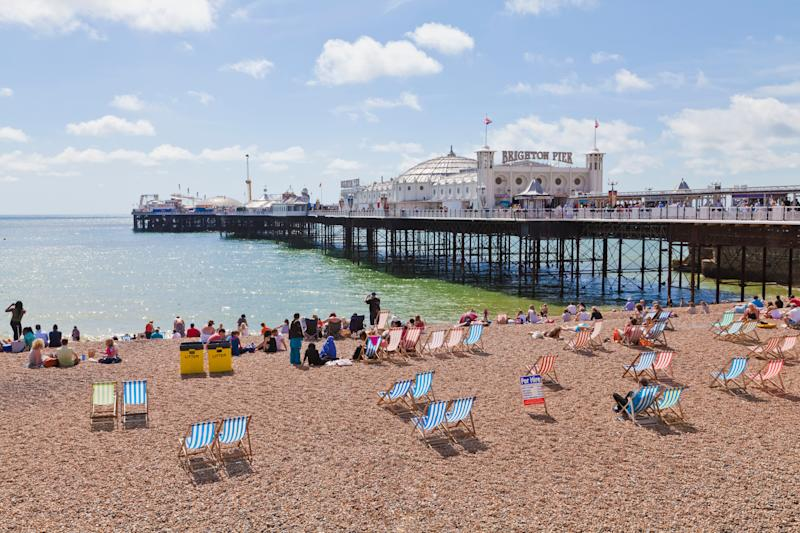 Brighton in Sussex also made the cut at number two [Photo: Getty]