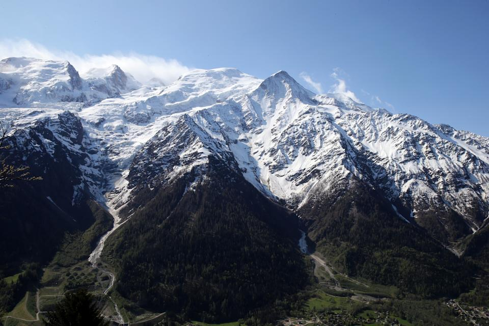 Relics from a 1966 plane crash were found in the French Alps by a local restaurant owner. Source: Getty Images