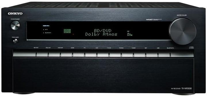 dolby atmos will support 34 speakers high end home theaters onkyo receiver tx nr3030