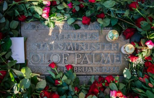 A plaque marks the spot where Olof Palme was gunned down in Stockholm on February 28, 1986