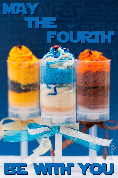 """Each of these Star Wars-inspired push pops represents a different character in the series. One R2-D2, please!<br>See the full slideshow at <a rel=""""nofollow"""" href=""""http://www.sheknows.com/food-and-recipes/slideshow/2014/star-wars-inspired-recipes/4"""">SheKnows</a>"""