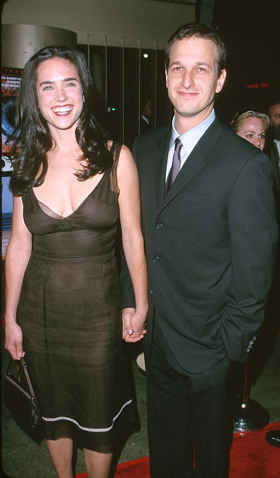 """After Jennifer Connelly dumped """"Sports Night"""" star Josh Charles, she moved on to Paul Bettany, whom she married in 2003. Steve Granitz/<a href=""""http://www.wireimage.com"""" target=""""new"""">WireImage.com</a> - October 16, 2000"""