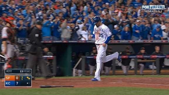 Royals rout Giants 10-0 to force Game 7 in Series