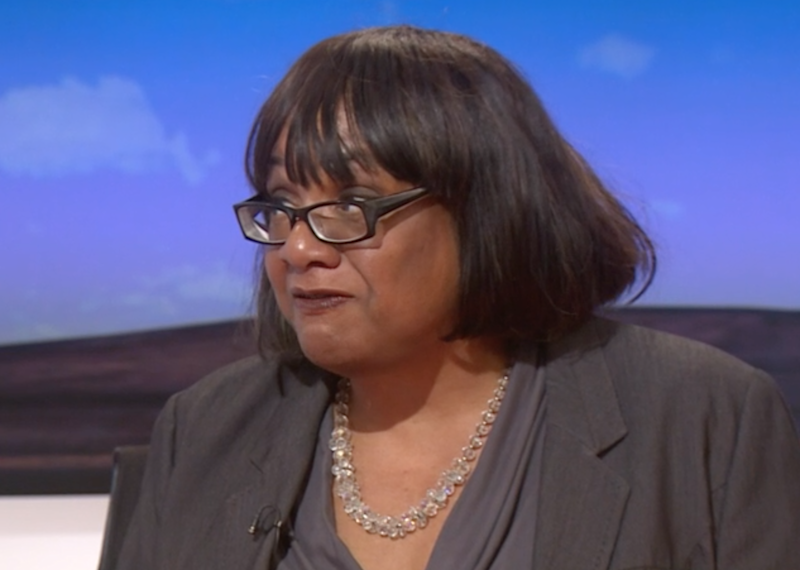 Diane Abbott has come under fire after an awkward LBC radio interview: BBC