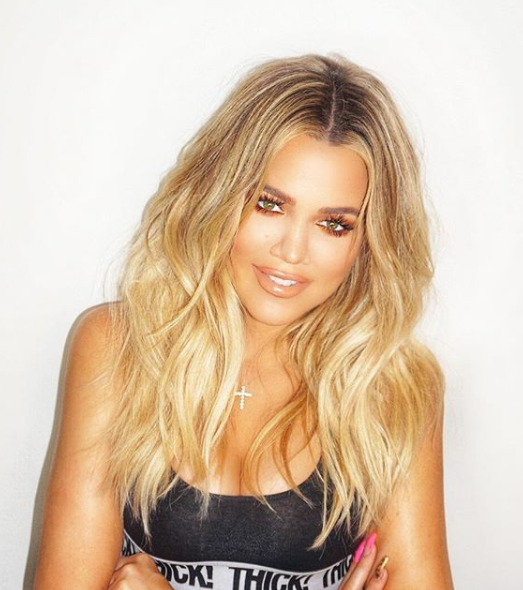 Khloe's looking fitter than ever thanks to her healthy approach to exercise and diet. Photo: Instagram