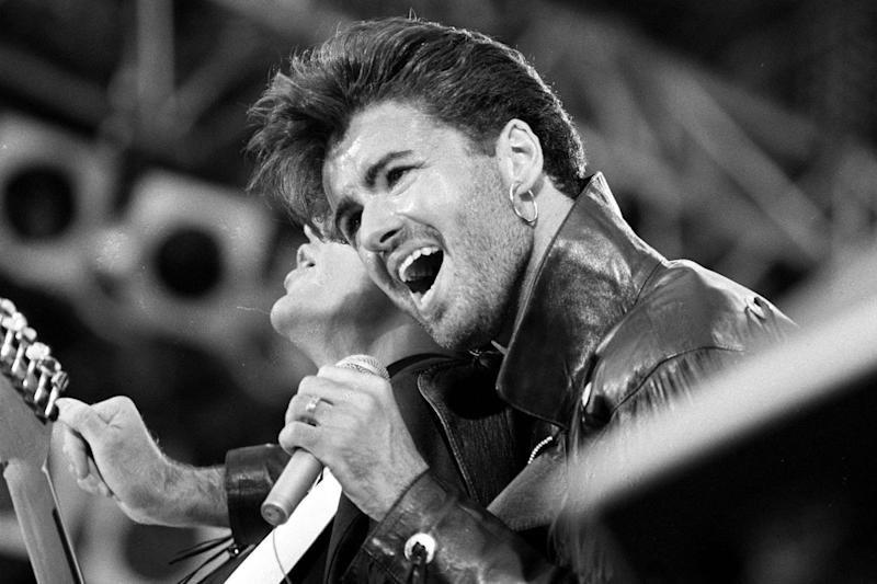 Superstar: George Michael fan finally paid tribute to the late star: PA Wire/PA Images