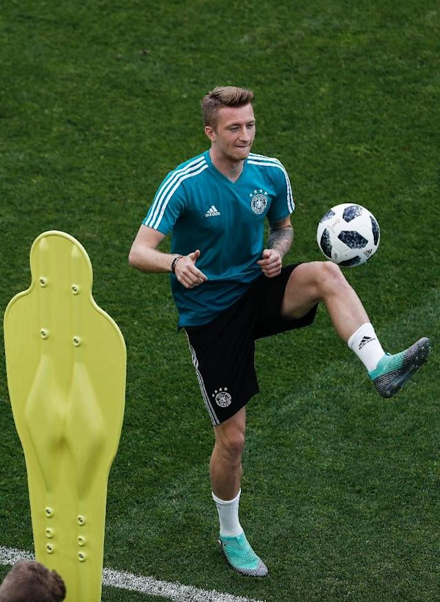 Will Marco Reus start against Sweden? (AFP Photo/Adrian DENNIS)