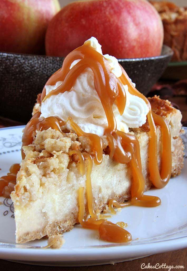"""<p>Cake was what caramel apples were missing. Obviously.</p><p>Get the recipe from <a href=""""http://cakescottage.com/2014/11/17/caramel-apple-crisp-cheesecake/#more-1106"""" rel=""""nofollow noopener"""" target=""""_blank"""" data-ylk=""""slk:Cake's Cottage"""" class=""""link rapid-noclick-resp"""">Cake's Cottage</a>.</p>"""