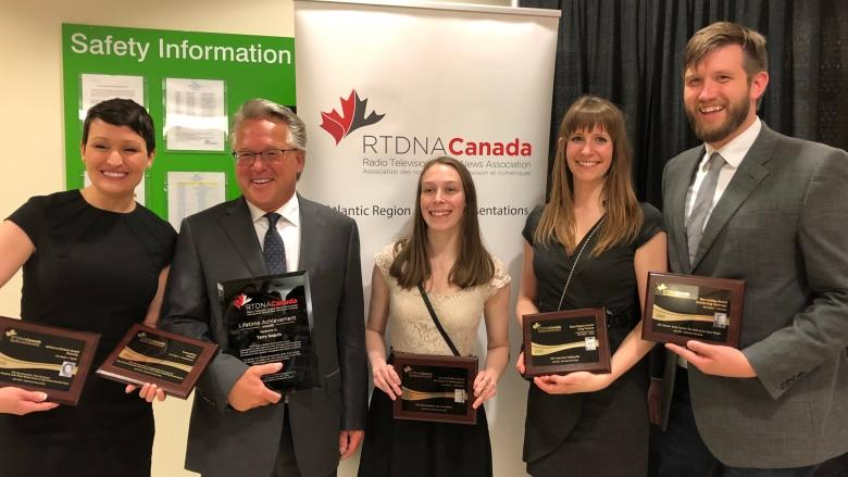 CBC New Brunswick wins 5 RTDNA awards