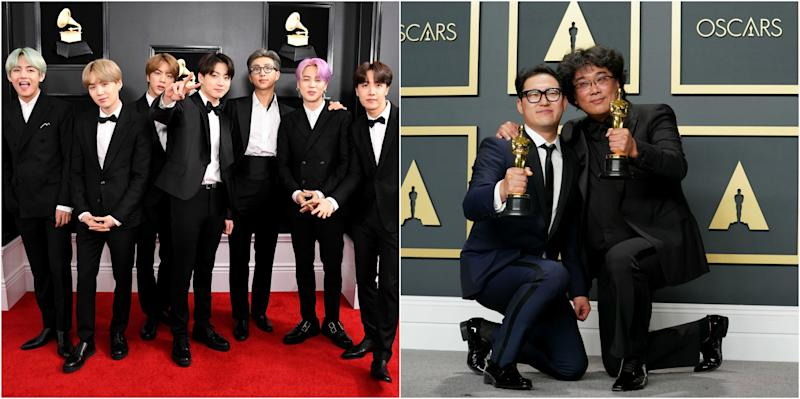 BTS Congratulated   Parasite Director on Historic Oscars 2020 Best Picture Win