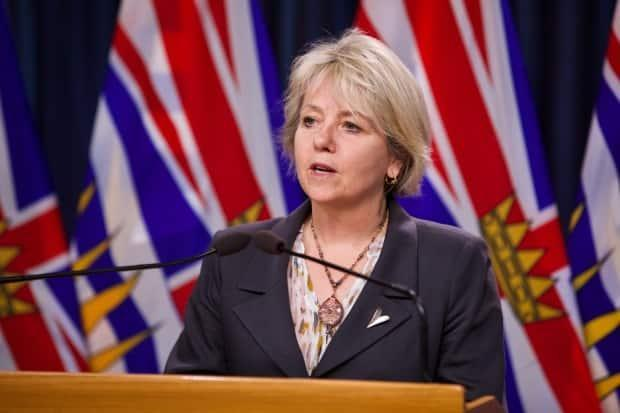 B.C.'s Provincial Health Officer Dr. Bonnie Henry faces RCMP union criticism about  comments she made on police reform.   (Mike McArthur/CBC - image credit)