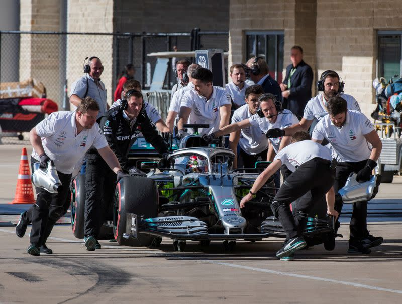 Formula One uses break from racing to join Britain's coronavirus battle