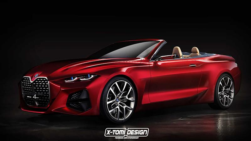 BMW Concept 4 Convertible Rendering