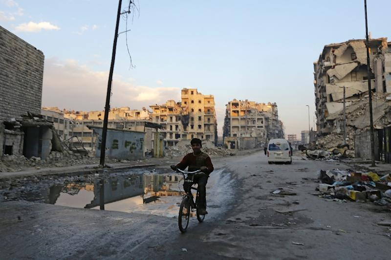 With East Aleppo gone, Syrian rebels have a weak hand to play, say analysts (AFP Photo/Louai Beshara)