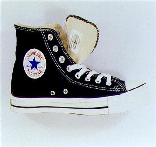 Converse Chuck Taylor All Star basketball shoe, photo