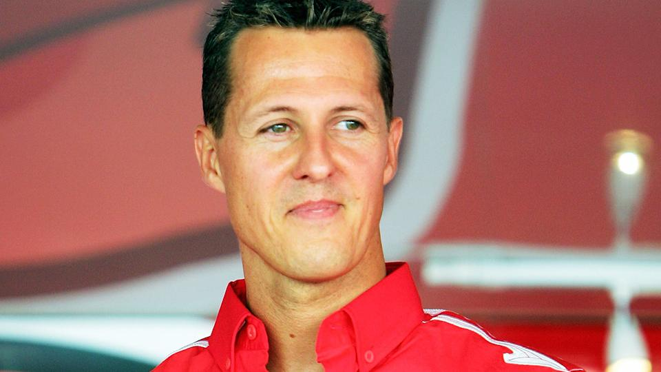 Michael Schumacher, pictured here at the Italian Grand Prix in 2005.