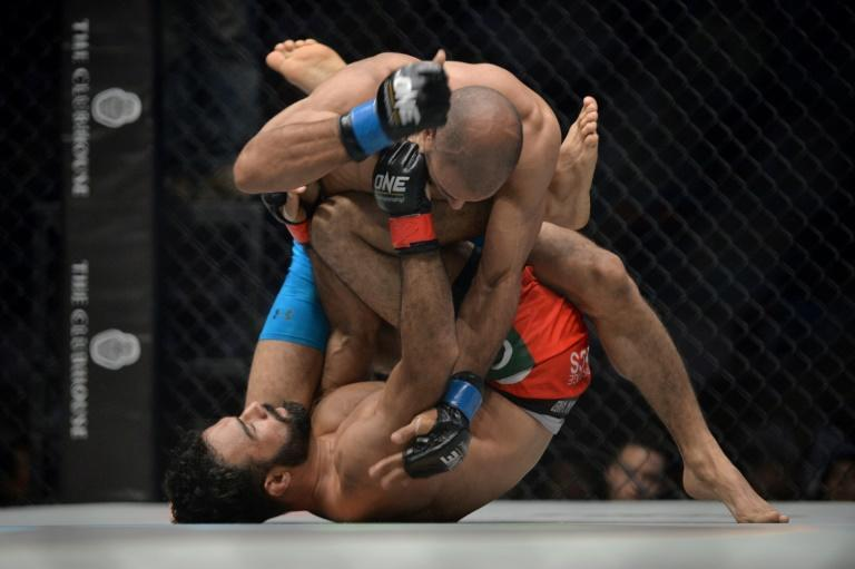 One Championship last held a fight night in February (AFP Photo/ROMEO GACAD)