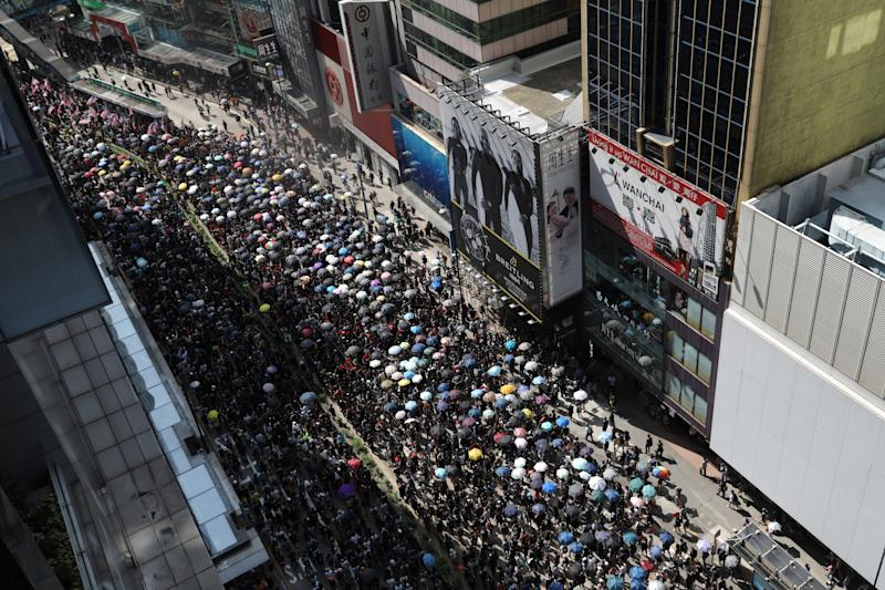 Police Deploy Tear Gas, Water Cannons: Hong Kong Update