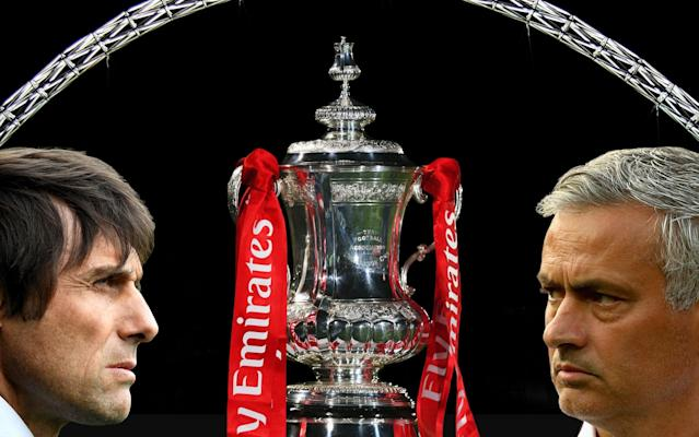 "The big day is here! No, it's not the Royal wedding we're getting excited about here - it's FA Cup final day! You'll find everything you need to know about the game on this page. Enjoy! What is it? It is the 2018 FA Cup final at Wembley, the 12th at the new stadium. Manchester United will take on Chelsea, who are looking to complete an FA Cup double after their women's team beat Arsenal. When is it? It is this weekend. Saturday May 19, the same day as the Royal Wedding. What time is kick-off? Kick-off is scheduled for 5:15pm, a slightly earlier start time than last year's final between Chelsea and Arsenal, which kicked-off at 5.30pm. What TV channel is it on? BT Sport and BBC have shared FA Cup coverage this season, and you will be able to watch the final via both broadcasters. Alternatively, you can follow all the build up and live action with our Telegraph Sport live blog. FA Cup final 2018 | How long until it begins? Does it clash with the Royal Wedding? Though the two events are on the same day, there will be no clash between the ceremony at Windsor Castle and the final at Wembley. Prince Harry and Meghan Markle are due to be married in at noon, with the Cup final kicking-off later in the afternoon. So football-loving royalists can have their cake and eat it. Prince William, the Duke of Cambridge, usually attends the final and presents the cup to the winning captain in his role as Football Association president, but will not be this year. Revealed: The inside story of how Antonio Conte's reign at Chelsea turned sour Is the video assistant referee system in use? Yes. For the first time ever in the final of football's oldest cup competition VAR will be utilised and promises to be one of the day's most contentious talking points. Had the system been in place last year, Alexis Sanchez's opening goal for Arsenal would likely have been ruled out for handball. Is it the final game of the season? Aside from Liverpool, who feature in the Champions League final a week later, it will be the last time we see Premier League teams in action in the 2017-18 season. There are Football League play-off finals at Wembley the following weekend and then a little tournament called the World Cup. Try our predictor below! World Cup predictor What happens if the game is a draw? The days of multiple replays in the final are long gone. If the match finishes as a draw after 90 minutes, there will be 30 minutes of regular extra-time followed by penalties if the scores still level. Is there a place in Europe at stake? Winning the FA Cup does guarantee a place in the Europa League group stages, but rules state if the winner already has a place in European competition via league position then the seventh placed team in the Premier League will qualify instead. With Manchester United and Chelsea both already guaranteed European football, seventh-placed Burnley are now guaranteed a place in next season's Europa League. Team news Chelsea Goalkeeper Thibaut Courtois could play in the FA Cup for the first time this season when Chelsea play Manchester United in Saturday's final. Willy Caballero has featured in the competition this term, but did not convince when deputising when Courtois missed the Premier League draw with Huddersfield with a back injury. Full-back Emerson Palmieri (undisclosed) has joined defenders David Luiz (knee) and Ethan Ampadu (ankle) in being ruled out injured. Provisional squad: Courtois, Caballero, Rudiger, Alonso, Fabregas, Drinkwater, Kante, Barkley, Morata, Hazard, Pedro, Bakayoko, Moses, Giroud, Zappacosta, Willian, Cahill, Christensen, Azpilicueta, Eduardo. Pick your Chelsea team to play Man Utd Manchester United Manchester United striker Romelu Lukaku needs a late fitness test ahead of the FA Cup final against Chelsea. The Belgium international faces a race against time to recover from an ankle injury in order to line up against his former club. Winger Anthony Martial is fit after shaking off a knee problem. Provisional squad: De Gea, Romero, Valencia, Darmian, Shaw, Young, Lindelof, Smalling, Jones, Rojo, Bailly, Matic, Pogba, McTominay, Fellaini, Herrera, Mata, Lingard, Martial, Sanchez, Rashford, Lukaku. Pick your Manchester United team to play Chelsea What are they saying? Chelsea manager Antonio Conte admits his future at the club will become clearer after the FA Cup final. ""It is very difficult to comment on speculation because there has been speculation around me from the start of the season, after the first game against Burnley. ""This speculation is not important to me because my focus is only to do my work in the best possible way with my players. I am doing this from the start until the end. ""There are only two weeks and this season will finish, and you will know if there is a different situation or if you see me again next season. ""In this decision there are always two parties to take the decision, not only one side. I like to work with my players to build something important but in our job the final result is very important."" Manchester United manager Jose Mourinho remains uncertain on whether striker Romelu Lukaku will be fit to take part in the Wembley showpiece. Lukaku picked up a knock after colliding with Arsenal defender Konstantinos Mavropanos. ""I don't think it's something, or I hope it's not, that in this moment keeps him immediately out of a game that is in a few weeks' time. ""But I don't know. I never, when I finish a game and a player is injured, immediately go for good or bad news. I wait a bit more. ""I don't know if he is going to be out, or if he's not okay. He wants to play all the time. He is never tired and, when he has small things, he doesn't care. He still wants to play."" What are the latest odds? Chelsea 19/10 Manchester United 8/5 What is our prediction? Speculation over Antonio Conte's future - and Chelsea's recent performances - will help Manchester United, whose manager Jose Mourinho has an impressive cup final record. Prediction: Manchester United 2 Chelsea 0"