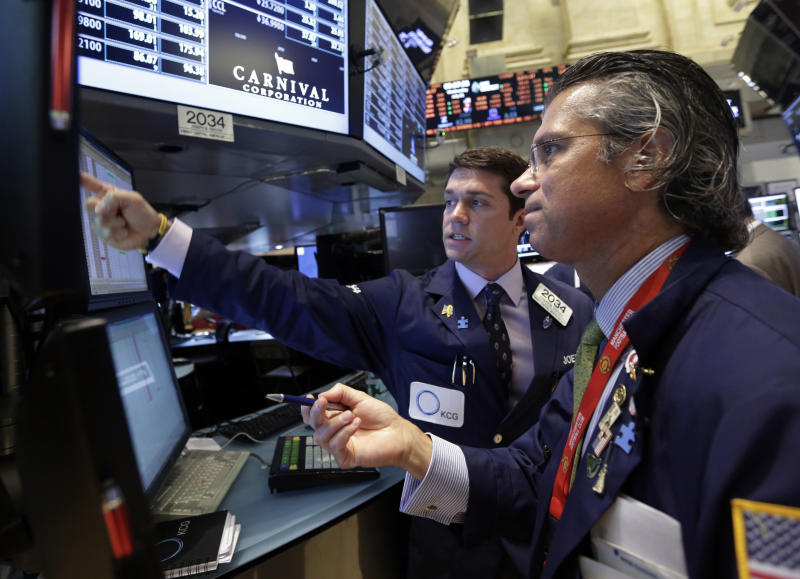 Tepid jobs news barely dents stock market advance