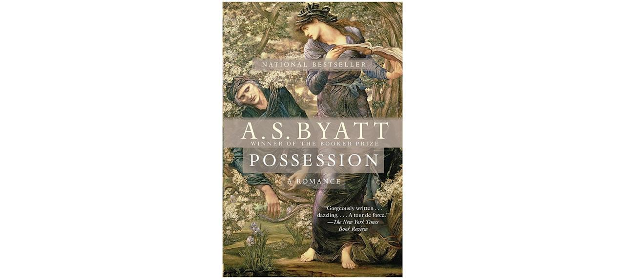 """<p>This Man Booker award-winning novel about romance between two literary scholars includes many wonderful tidbits of bookish goodness. Byatt weaves the story together with a patchwork of poetry, fairy tales, letters, diary entries, narration, and even academic papers. A high-brow love story, <em>Possession</em> will give you a taste of fall on an British university campus.</p> <p><strong>To buy: </strong>$14; <a href=""""http://www.amazon.com/Possession-S-Byatt/dp/0679735909/ref=as_li_ss_tl?ie=UTF8&linkCode=ll1&tag=rslifebookstoreadfallrrjuly19-20&linkId=16554771d8f0e52490c71fb9ff3f0495&language=en_US"""" target=""""_blank"""">amazon.com</a>.</p>"""