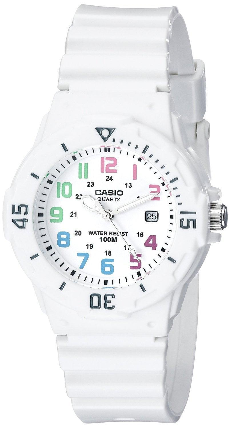 <p>We love the balance between the white band and the face on this <span>Casio Women's Sport Watch</span> ($21, originally $30).</p>