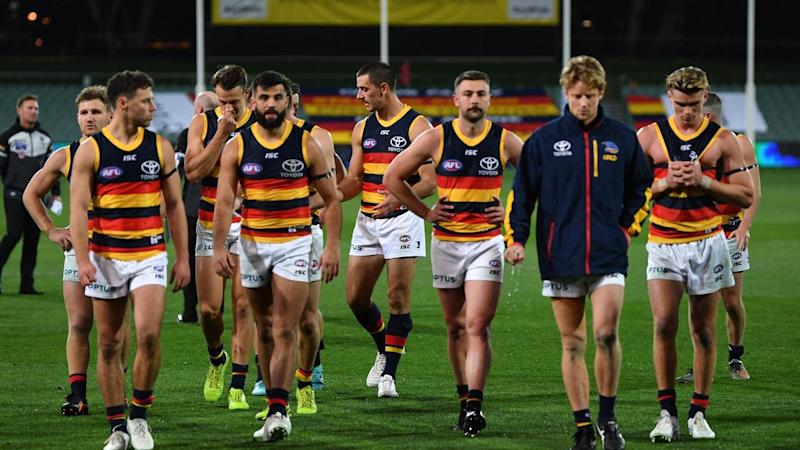 The Crows were humiliated in their round two loss to Port Adelaide