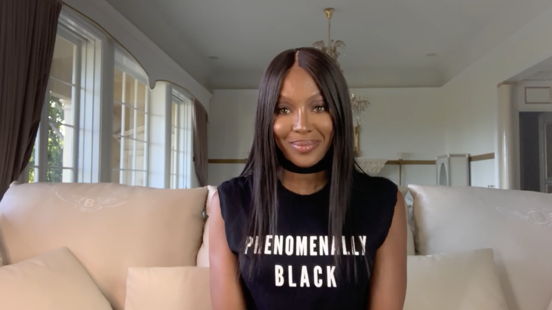 Naomi Campbell opens Paris Haute Couture Week with a video message. (PHOTO: HCM)