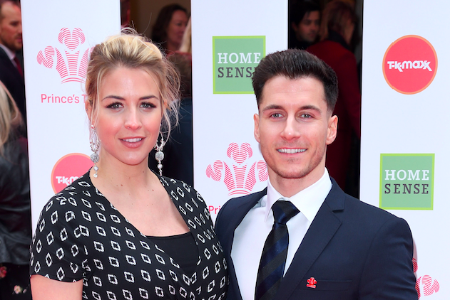 Gemma Atkinson and Gorka Marquez attend The Prince's Trust, TKMaxx and Homesense Awards at The Palladium on March 13, 2019 in London, England. (Photo by Karwai Tang/WireImage)