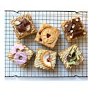 "<p>If blondies are more your thing, these beautifully-decorated treats should be right up your street! Featuring classic biscuits including Party Rings and Jammie Dodgers, these would go perfectly with a hot cuppa. </p><p><a class=""link rapid-noclick-resp"" href=""https://go.redirectingat.com?id=127X1599956&url=https%3A%2F%2Fwww.etsy.com%2Fuk%2Flisting%2F859631202%2Fblondies-mix-selection-letterbox-six%3Fga_order%3Dmost_relevant%26ga_search_type%3Dall%26ga_view_type%3Dgallery%26ga_search_query%3Dletterbox%2Bbrownies%26ref%3Dsr_gallery-1-50%26organic_search_click%3D1%26pro%3D1%26frs%3D1&sref=https%3A%2F%2Fwww.delish.com%2Fuk%2Ffood-news%2Fg34653549%2Fletterbox-brownies%2F"" rel=""nofollow noopener"" target=""_blank"" data-ylk=""slk:BUY NOW"">BUY NOW</a> <strong>£12.59</strong></p>"