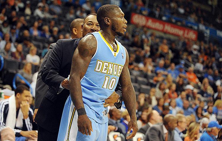 Nuggets' Nate Robinson fined $10,000 for 'pushing,' 'striking' Thunder's Steven Adams (Video)