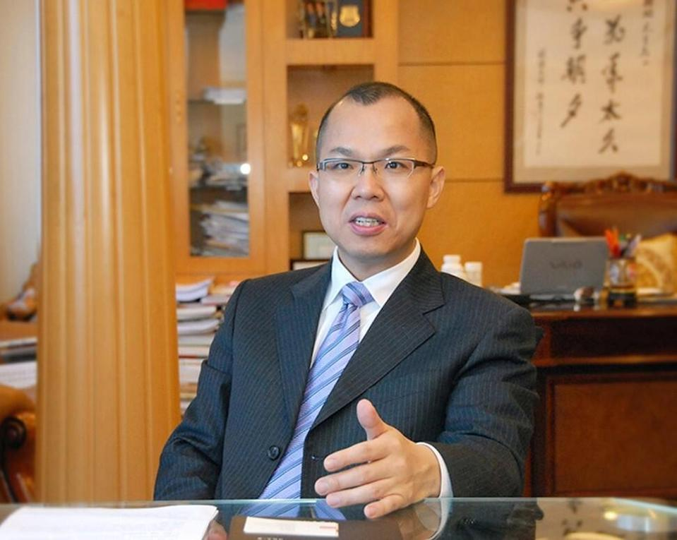 Lin Tengjiao, founder and chairman of the Yango Group, and a delegate to the NPC representing Fujian province.
